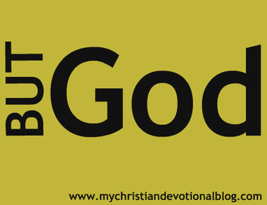 But God - a Christian devotional that'll help you grow in God.