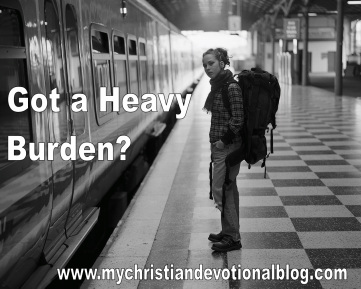 We weren't meant to carry our heavy burdens alone.