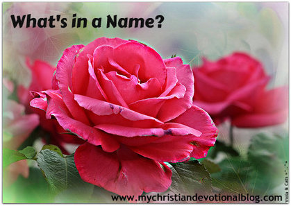 This Christian devotional talks about the names of God.